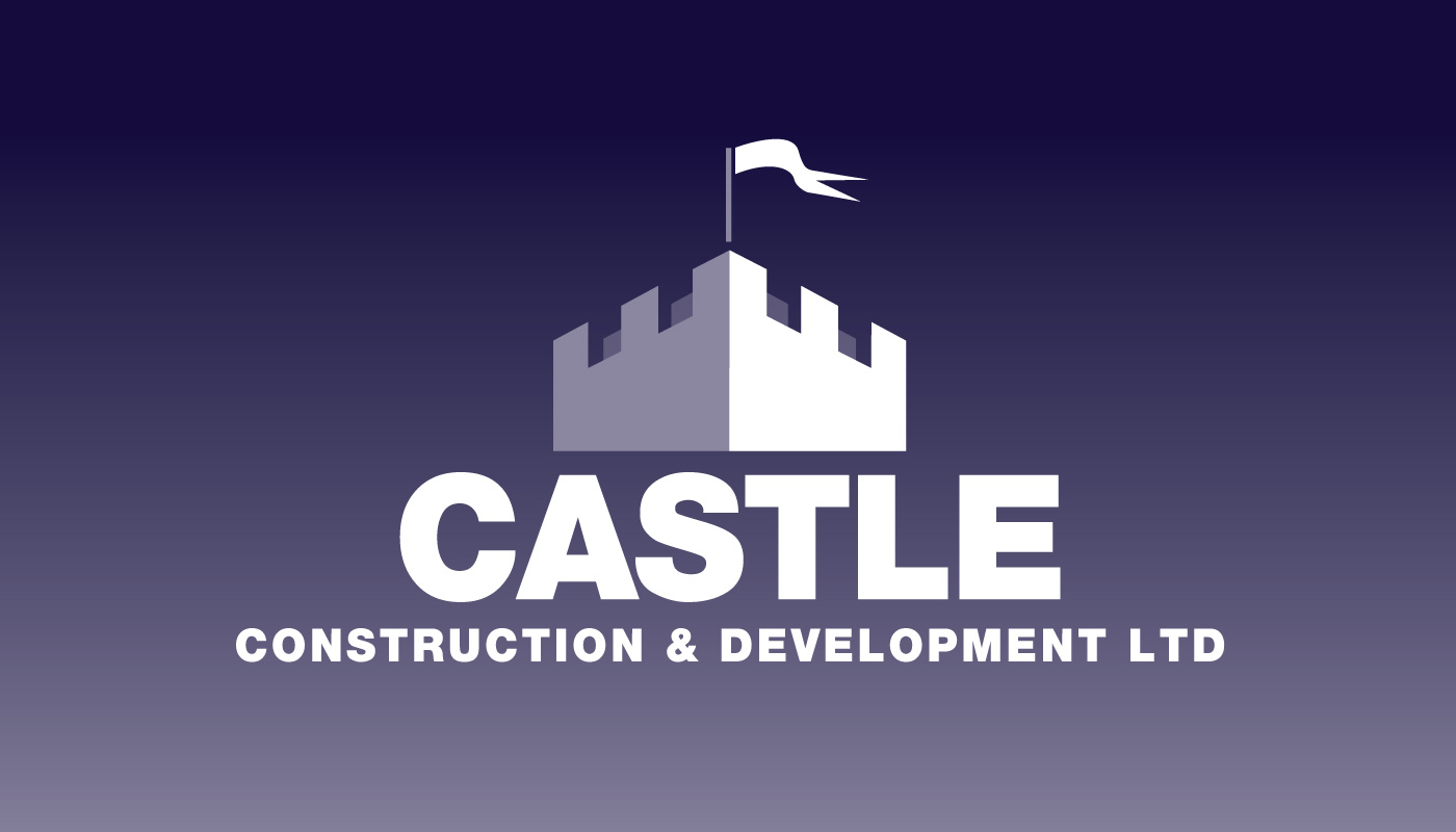 Castle Construction & Development Ltd branding