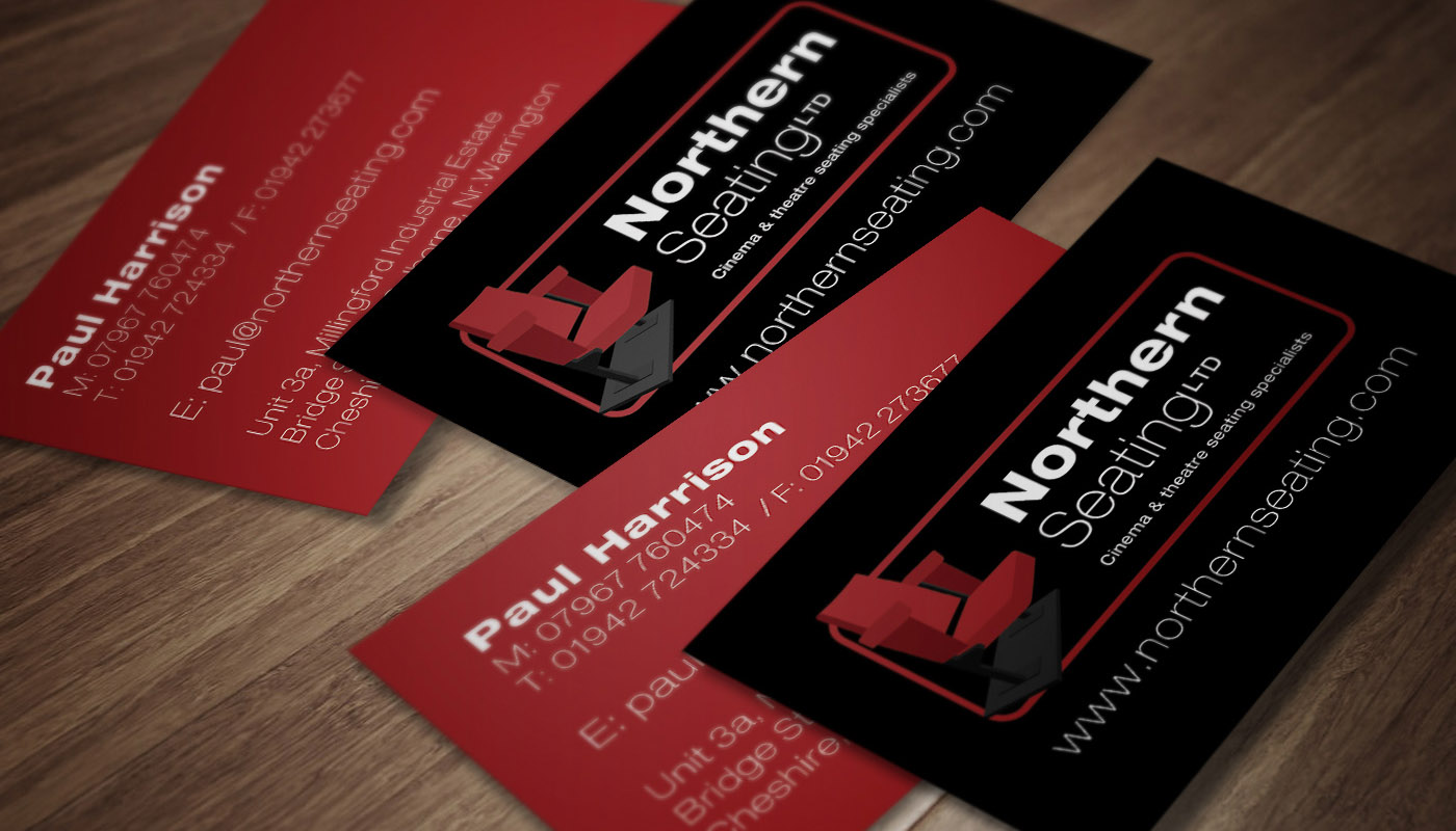 Northern Seating Ltd business card